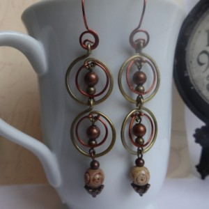 Music of the Spheres Earrings - Poetry Inspired