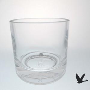 Templeton Rye Whiskey Bottle Upcycled Old Fashion Glasses, Set of  (2)