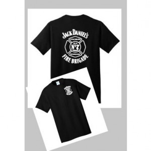 Custom Jack Daniels OLD No 7 Fire Brigade