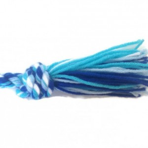 Jump Rope, Dark Blue, Light Blue, Turquoise and White Ocean Cabana
