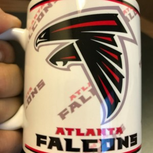 Custom Made Atlanta Falcons 11oz Coffee Mug