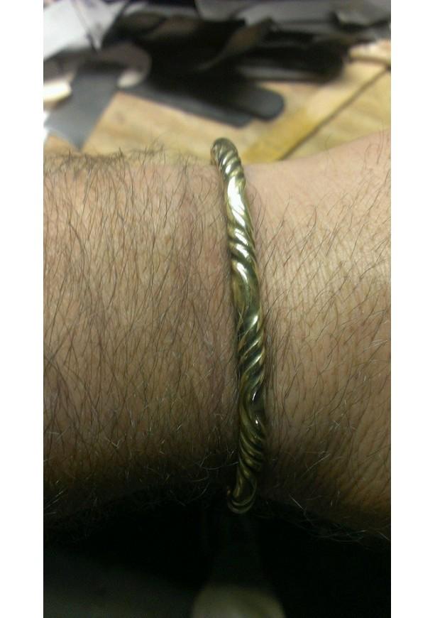 Men's Viking Brass Bracelet