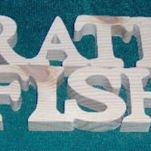 """Natural Wooden Sign """"I'D Rather Be...."""" Series. Free Shipping!"""