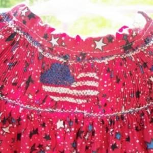 Patriotic bishop Dress Size 4
