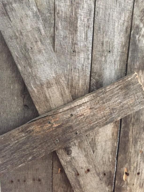Reclaimed Pallet Wood Cross Wooden