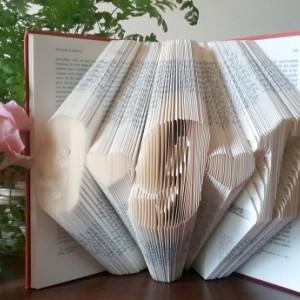 Folded Book - Original - Custom Date - Vintage - Unique