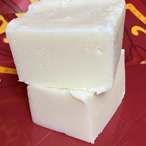 White Chocolate Fudge  **nut free**  1 pound   ***FREE SHIPPING !