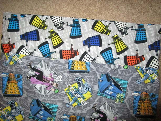 Dr. Who Standard Pillowcase
