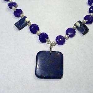 Pearl Semi-precious Stone Necklace