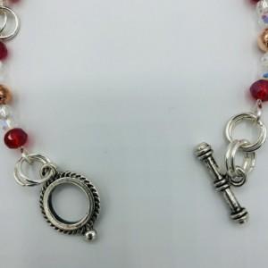 """7"""" Linked Beaded Bracelet"""
