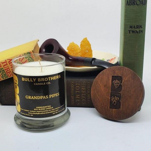 Grandpa's Pipes - Candle 9 oz jar
