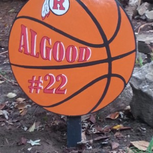 Basketball Yard SIgn