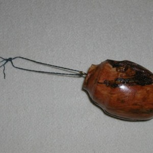 Pine Burl Ornament  #13