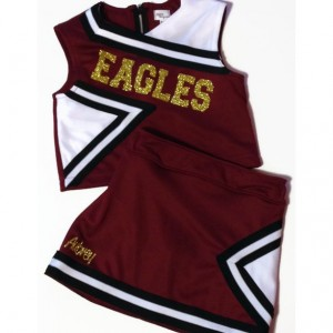 Custom Cheerleading Uniform, Child 6 or Child 8