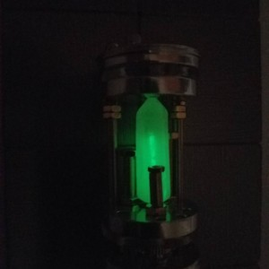Radiant Crystal (glows continuously for 15+ years)& Lightsaber Chamber, Self illuminating, 24/7 Glow