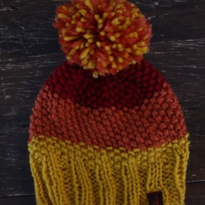 Red Orange Yellow Beanie
