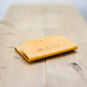 Passport Cover,  Passport Holder, Leather Passport Cover, Travel Wallet, Leather Clutch  (Mustard Yellow Color)