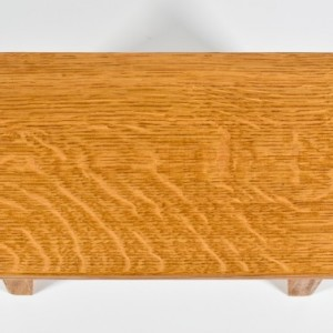 "6"" Oak Step Stool"