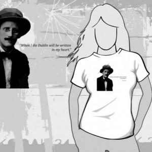 James Joyce - Dublin T-Shirt