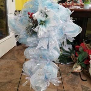 Christmas Holiday Easter Dove Cross Wreath Indoor Outdoor Door Decor Christmas Decoration