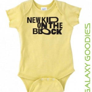 New Kid on The Block - Baby Onesie - NKTOB