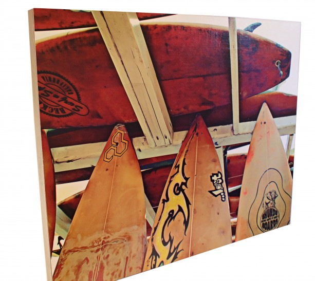 "BEACH BOARDS I - 24"" x 30"""