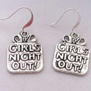 Girls Night Out Earrings Party Earrings