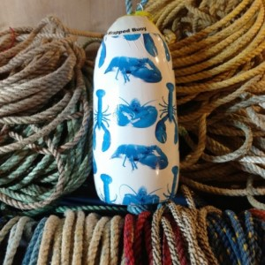 Blue Lobster! A decorative Maine lobster buoy!
