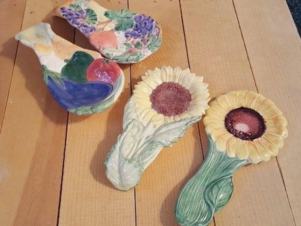 Ceramic Spoon Rests