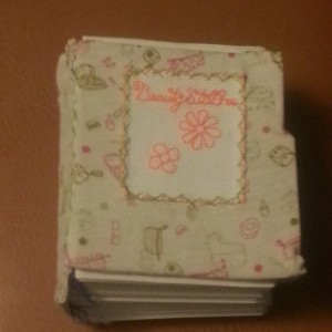 BeautyStitches Coaster Designs: Flowers Mini Blank Book