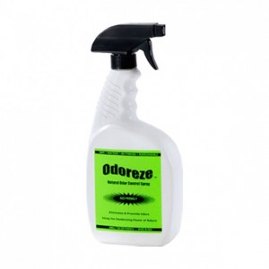 ODOREZE Natural Drain Odor Eliminator: Makes 64 Gallons to Clean Drain Stench Naturally