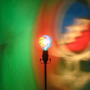 Hand-Painted Grateful Dead Dancing Bear Mood-Light Bulb