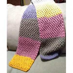 Crocheted Bean Scarf