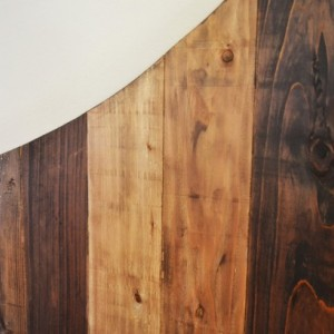 The Extra Rustic Bayley - Wooden Headboard