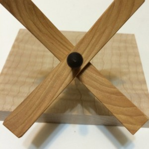 Turkish drop spindle medium Hickory