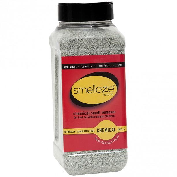 SMELLEZE Natural Chemical Odor Remover Granules: 2 lb. Bottle.