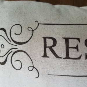 Reserved Pillow Cover - size 12x24