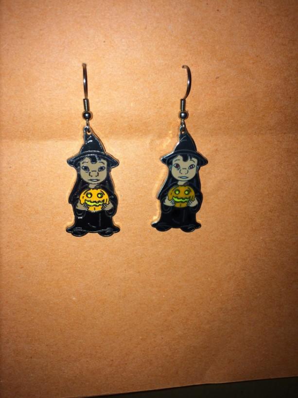 Lilo Halloween Earrings