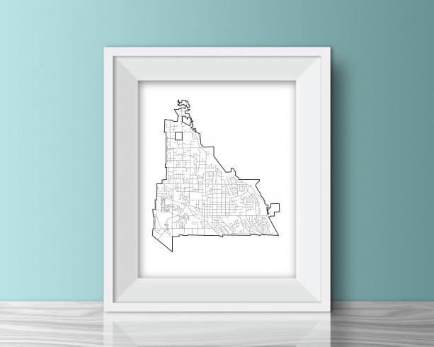 Pleasant Grove, Utah Print - 8x10