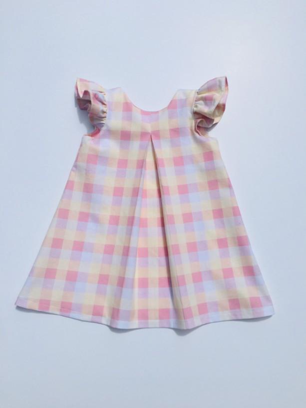 Little girls dress/shift dress/classic dress/traditional/timeless/vintage design