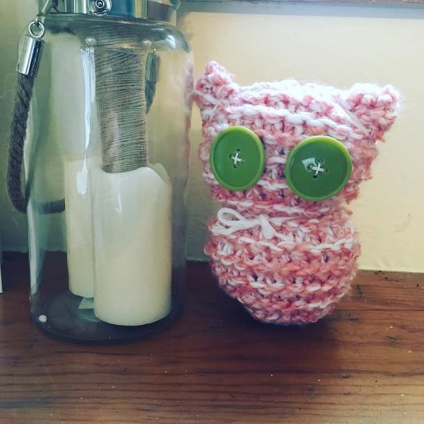 Delicate Owl Figurine