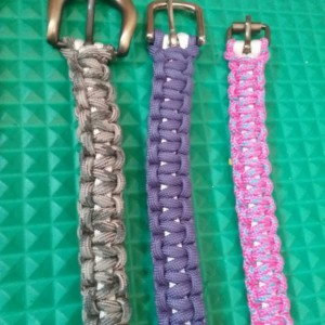 Paracord Belts