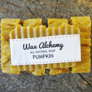 Pumpkin All Natural Soap / Two 5 oz Bars
