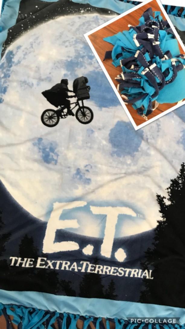 E.T. Fleece Blanket