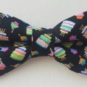 Birthday cakes pet bow tie