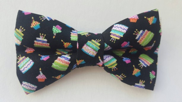 Birthday cakes pet bow tie