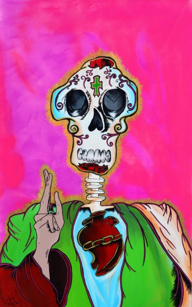 El Corazon Sagrado 11x14