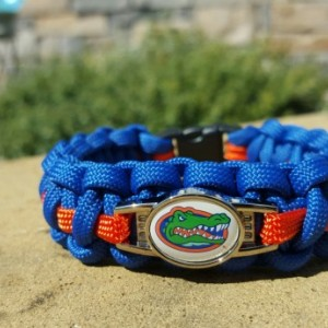 Florida Gators Paracord Bracelet NCCA Officially Licensed Charm