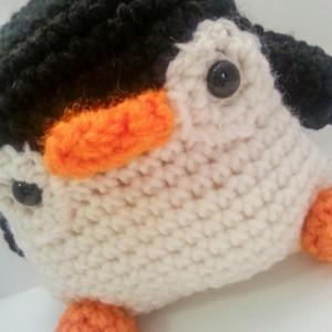 Peter The Amigurumi Penguin Crochet Plush Toy