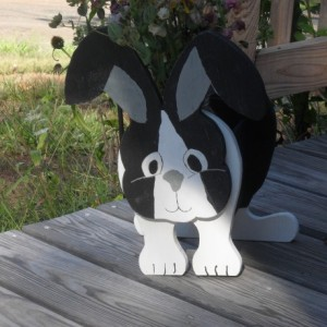 Dutch rabbit planter box